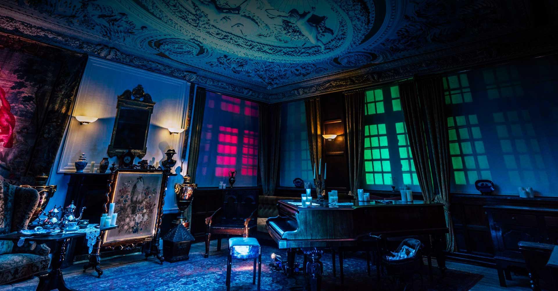 Astley Hall Illuminated Interior