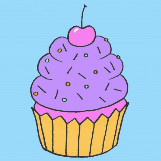 #creatvieastley Salt Dough Cupcakes